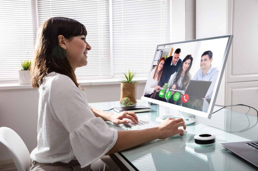 Remote audit video conference