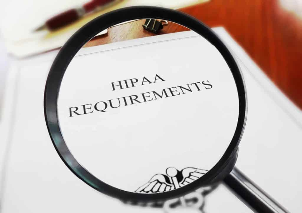 HIPAA risk analysis and audit suggestions
