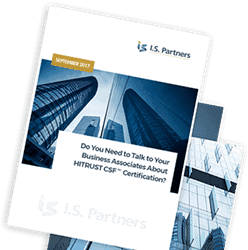 I.S. Partners HITRUST White Paper