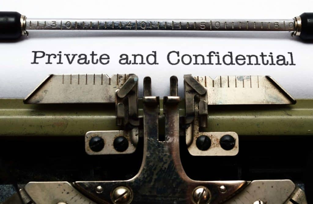 Privacy vs Confidentiality